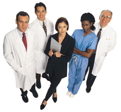 Team of doctors